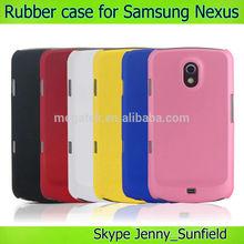 Phone case phone accessories rubber hard case for samsung Galaxy Nexus i9250,for samsung galaxy nexus case