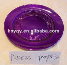 """13"""" Christmas Reusable Plastic Plate"""
