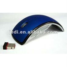 Ergonomic 4D 2.4Ghz Wireless Folded Mouse