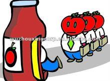 Fresh table 3000g tomato paste/pasta supplier