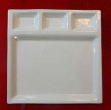 porcelain snack plate,porcelain buffet plate,porcelain buffet dinner plate