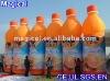 Inflatable advertising juice bottle shape