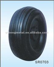 Plastic Rim Solid Rubber Wheel SR00703
