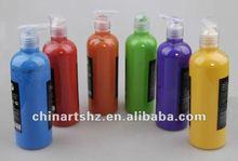 500ML Pump Bottle Finger Paint - washable paint