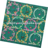 Fashion Print Hot Sale Silk Pashmina