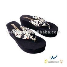 2012 New Style Women High Heel Flip Flops