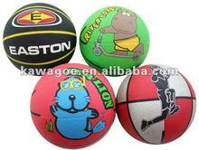 rubber kids basketball