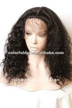 fashion white woman wig