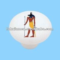 Antique Primitive Egyptian Decorative Plates