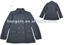 2012 fashion design wool ladies jacket