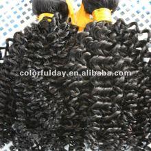 Soft brazilian virgin curly hair