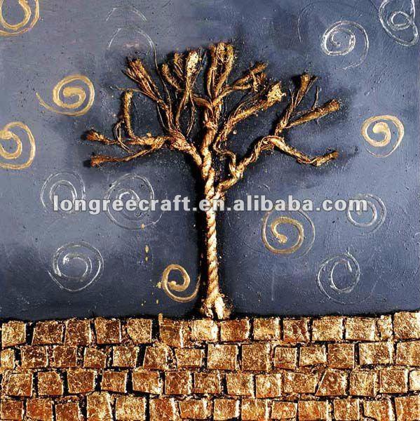 simple famosas pinturas abstractas de árboles