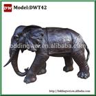 brass elephant sculpture statue
