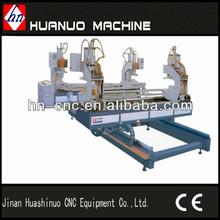 Four head wedge welding machine for PVC windows and doors