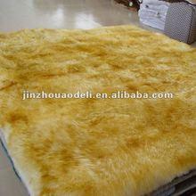 australia merino long wool sheepskin baby blanket