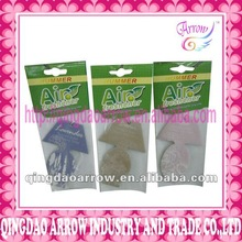 promotional paper air fresheners for car