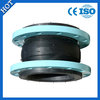 DN200 single sphere expansion rubber joint with flanges