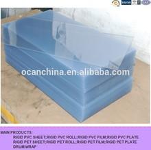 3*6 feet or 4*8 feet 2mm 3mm 5mm transparent rigid PVC sheet