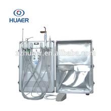 HUAER new design dental unit mobile dental clinic portable dental unit