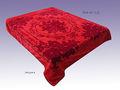 Colcha de casamento de luxo cobertor aline como cobertor