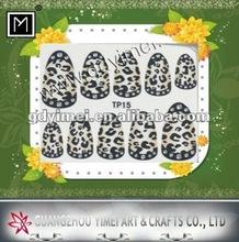 2012 New 2D Nail Art Sticker nail decoration TP15
