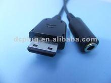 USB to 3.5mm audio converter