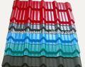 Galvanizado pré-pintadas de telhado de metal telha / aço acenado telhas