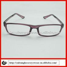 custom metal logo slim purple eyeglass frames Tr90