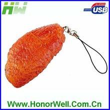 BBQ Themed USB Flash Drive Chiken Wings