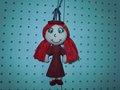 chaveiro de pelúcia boneca menina