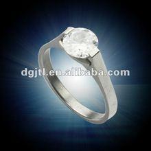 Pretty metal 2012 fashion fake diamond ring
