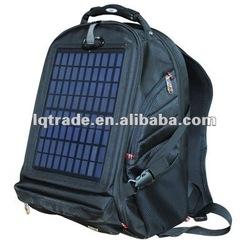 Genuine mobile power 5.5W solar bag charger travel bag computer bag mobile power