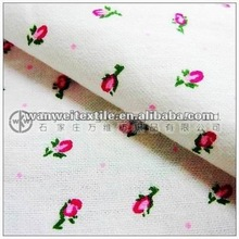 cotton printed flannel fabric with polka dots