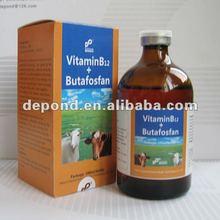goat medicine Vitamin B12 + Butafosfan injection