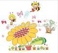ape adesivi murali girasole parede adesivo wandsticker wandaufkleber autocollant murale adesivi murali