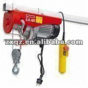 Mini lightweight electric hoist with input power of 750w