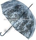 """23""""x8 transparent slim elgant lady umbrella"""