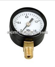 Standard pressure gauge in low pressure range