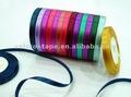 Satén de poliéster de la cinta, solo/doble cara, con diferentes colores