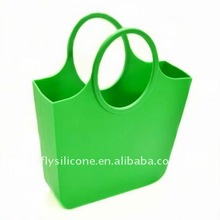 2012 Fashion Silicone Handbag for Shopping or for Gifts