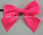 wedding dress satin ribbons bow