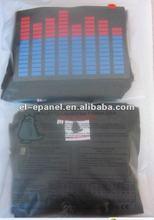 HIgh quality Equalizer EL T-shirt with nice PVC bag
