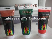 2012 200ml Acylic color paint color