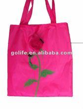 sunflower polyester shopping bag