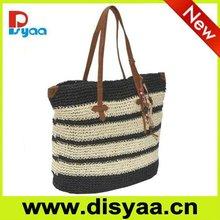 Fashion straw beach bag ,promotional beach bag 2015
