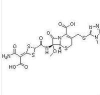 Cefotetan/ 69712-56-7/Cefotetan disodium/C17H17N7O8S4