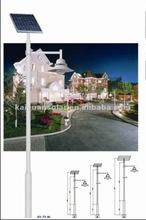 10W adjustable solar panel solar garden lamp
