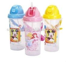 SS-1534 Plastic Flip Top Water Bottle According EN 71,LFGB