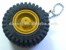 new! tyre shape pvc usb flash