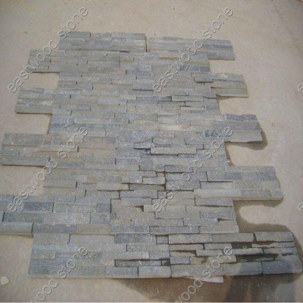 Mobili lavelli: finto muro di pietra